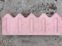 "LIGHT PINK DECORATIVE EDGINGS @17.5"" LONG 45 NO"